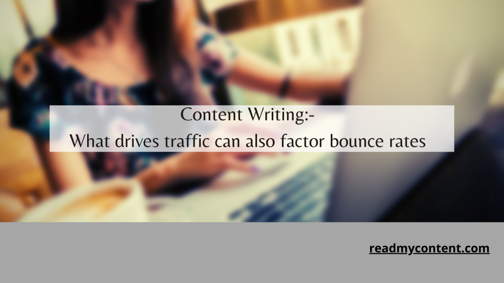 content writing bounce rates